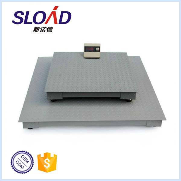 Weighing Capacity 1,000-3,000kg industrial floor scale