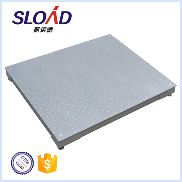 1 ton floor scale with stainless steel body