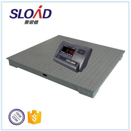 Single deck platform floor scale AND 2 ton floor scale AND digital floor scale 1.5m*1.5m